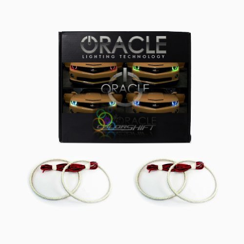 Oracle Lighting DO-CH0912-RGB - Dodge Challenger ColorSHIFT LED Halo Headlight Kit (ProjectorHL) (Dodge Challenger Led Taillights compare prices)
