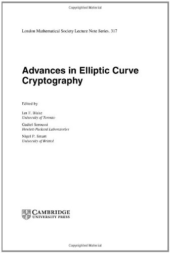 Advances in Elliptic Curve Cryptography