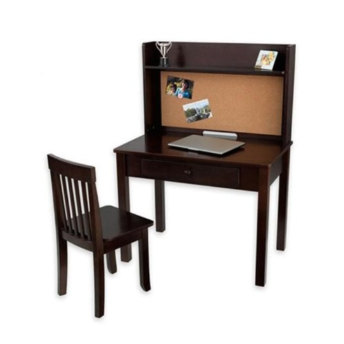 Best Prices Kidkraft Pinboard Desk with Hutch and Chair