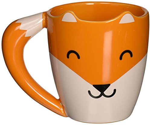 Thumbsup FOXMUG Renard Mug Céramique Orange