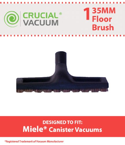 1 Miele Deluxe Hard Floor Brush, Fits All 35MM Vacuums, Designed & Engineered by Crucial Vacuum (Miele Hard Floor Brush compare prices)