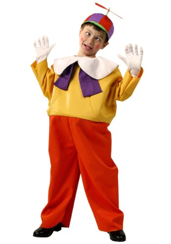 Big Boys' Kids Tweedle Dee / Dum Costume