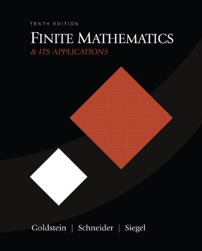 Finite Mathematics & Its Applications (10th Edition)