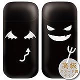 iQOS シール アイコス デコシール ステッカー 保護フィルム/デザインケース ブランド/高級スエード調/かわいいデビル/H/iqf122h