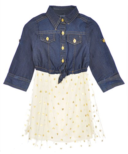 Dollhouse Baby Girls Goldenheart Dress