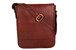 SCHARF Premium Leather Traveller Messenger bag