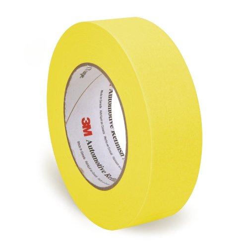 3M 06654 36 mm x 55 m Automotive Refinish Masking Tape (3m Yellow Tape Automotive compare prices)