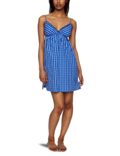 Cyberjammies Ditsy Rose Check Chemise Women's Nightdress