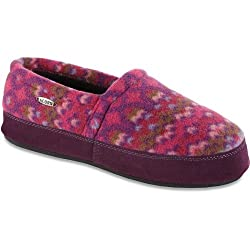 Acorn Womens Polar Moc III Slippers - Magenta Cable