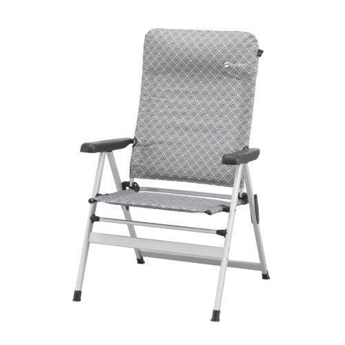 outwell winnipeg gris chaise pliante mobilier de camping chaises. Black Bedroom Furniture Sets. Home Design Ideas