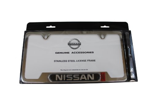Genuine Nissan Accessories 999MB-SV000 License Plate Frame (Nissan Chrome License Plate compare prices)