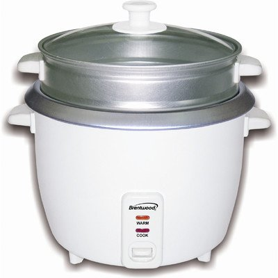 Brentwood TS-380S 10 Cup Rice Cooker and Steamer by Brentwood Appliances
