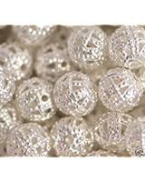 Spacer Beads Sachet de perles espaceurs filigranées
