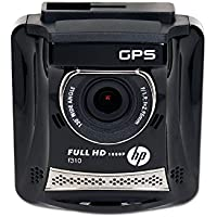 HP Full HD 1080P Car Dash DVR with GPS - Refurbished