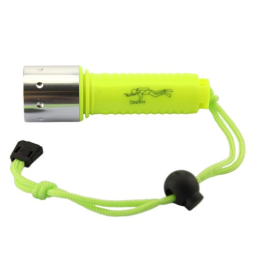 Tabstore 1600 Lm Lumen Diving Flashlight Waterproof Shining Yellow