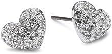 Comprar Swarovski Heart 1801352 - Pendientes de de acero inoxidable