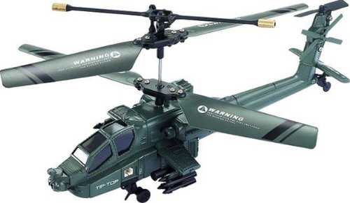3 Channel Apache Indoor RC Helicopter With Gyro