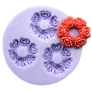 2.9cm mini Rose circe F0175 Fondant Mold Silicone Sugar mini mold Craft Molds DIY Cake Decorating at Amazon.com