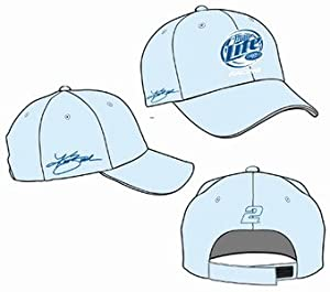 Kurt Busch Miller Lite Ladies Nascar Racing Hat