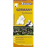 Germany Southwest Regional Map 545 (Michelin Regional Maps)