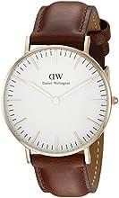 Comprar Daniel Wellington - Reloj analógico para mujer de cuero, color marrón
