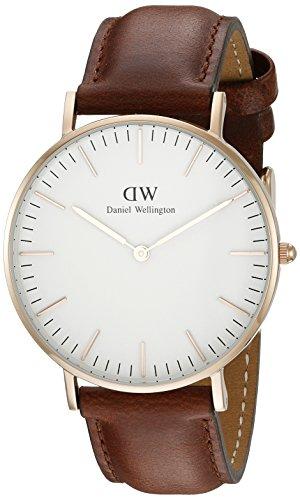 Daniel Wellington Damen-Armbanduhr St Andrews Analog Quarz Leder 0507DW
