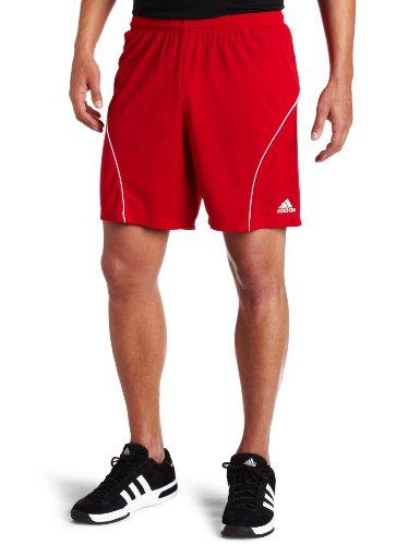 adidas Men's Striker Short, University Red/White, Small