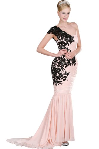 eDressit Pink Evening Party Gown Ball Dress (00106001) SZ 12