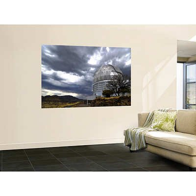 (48X72) Hobby-Eberly Telescope Observatory Dome At Mcdonald Observatory Huge Wall Mural