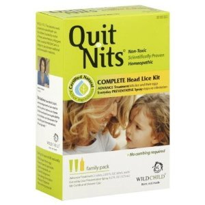 Hylands Homeopathic Wild Child Quit Nits Head Lice Kit