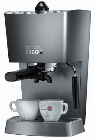 Gaggia 102533 Espresso-Dose Semi-Automatic Espresso Machine, Warm Silver
