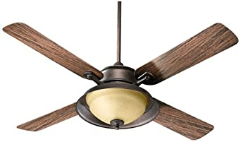 """52"""" Quorum Gramarcy Patio Toasted Sienna Ceiling Fan"""