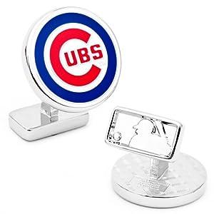 MLB Palladium Plated Cufflinks MLB Team: Chicago Cubs by Cufflinks Inc.