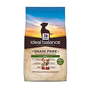 Hill's Ideal Balance Grain Free Adult Dog Dry Food Bag (Salmon & Potato, 3.5-Pound - 2 Pack)