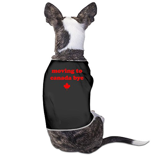 LeeRa Moving To Canada Dog Shirt (How To Make A Cat Costume For Adults)