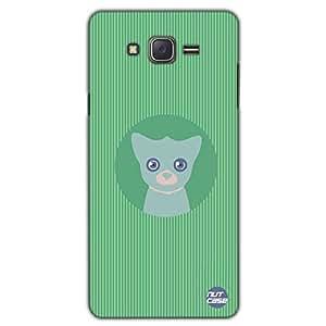 Designer Samsung Galaxy J5 Case Cover Nutcase -Cute Kitty In The Center