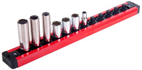 Torin LAS25PMT Magnetic Locking Socket Rack - 1/4 in.