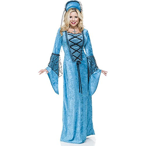 Blue Renaissance Queen Adult Costume