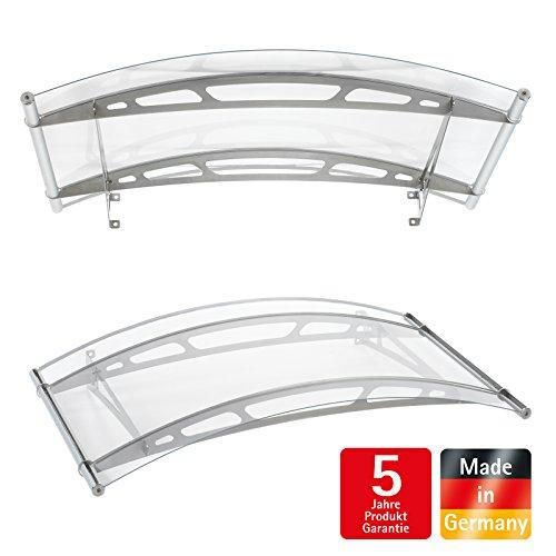schulte vordach haust r acrylglas edelstahl pultvordach 148x91cm. Black Bedroom Furniture Sets. Home Design Ideas
