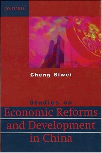 Studies on Economic Reform and Development in China