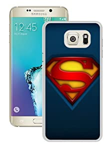 buy Hot Sale Samsung Galaxy S6 Edge Plus Case ,Unique And Durable Designed Case With Fabric Superman Logo White Samsung Galaxy S6 Edge+ Cover Phone Case