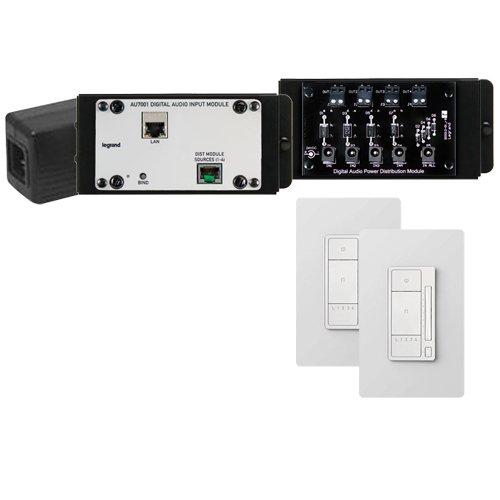 On-Q/Legrand Digital Audio 2 Room Expansion Kit, Light Almond (AU7052-LA)
