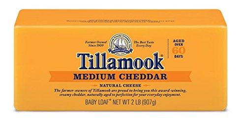 Tillamook Cheese 2lb Baby Loaf (Choose Flavor Below) (Medium Cheddar) (Organic Cheese Block compare prices)