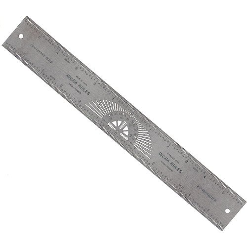 INCRA CENTER12 Centering Rule  12-Inch (Center Marking Tool compare prices)