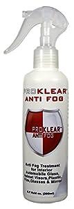 Proklear AF200 Anti-Fog Defog System For Windshield - Defogger Spray - 200Ml Pack by PROKLEAR