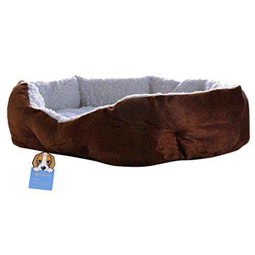 Panier corbeille coussin maison lit amovible pour chien - Panier pour chien fait maison ...
