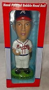 MLB Atlanta Braves Greg Maddux Hand Painted Collectible Bobbing Head by Twins
