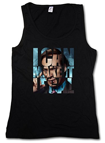 I CAN MAKE IT LEGAL SAUL GOODMAN DONNA TOP - Breaking Better Call Bad Saul DONNA TOP Taglie S - XL