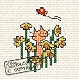 Mouseloft Mini Cross Stitch Kit - A Host of Golden Daffodils, Four Seasons Collection