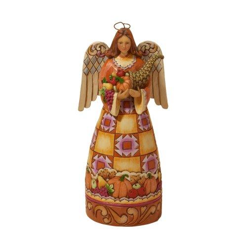 Jim Shore Small Harvest Angel Figurine